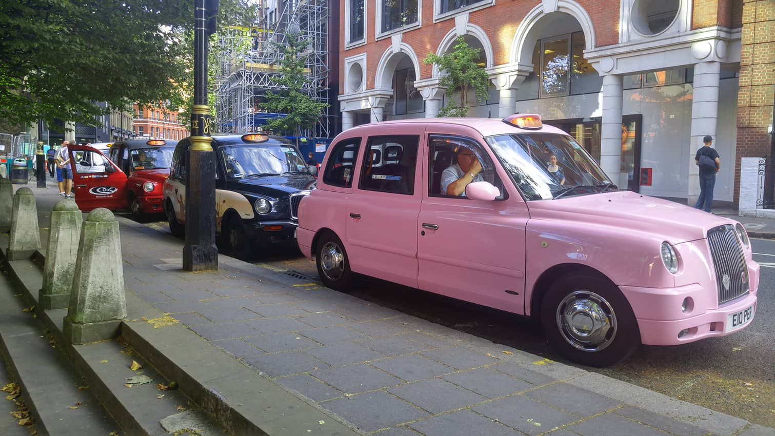 In London, take a taxi.