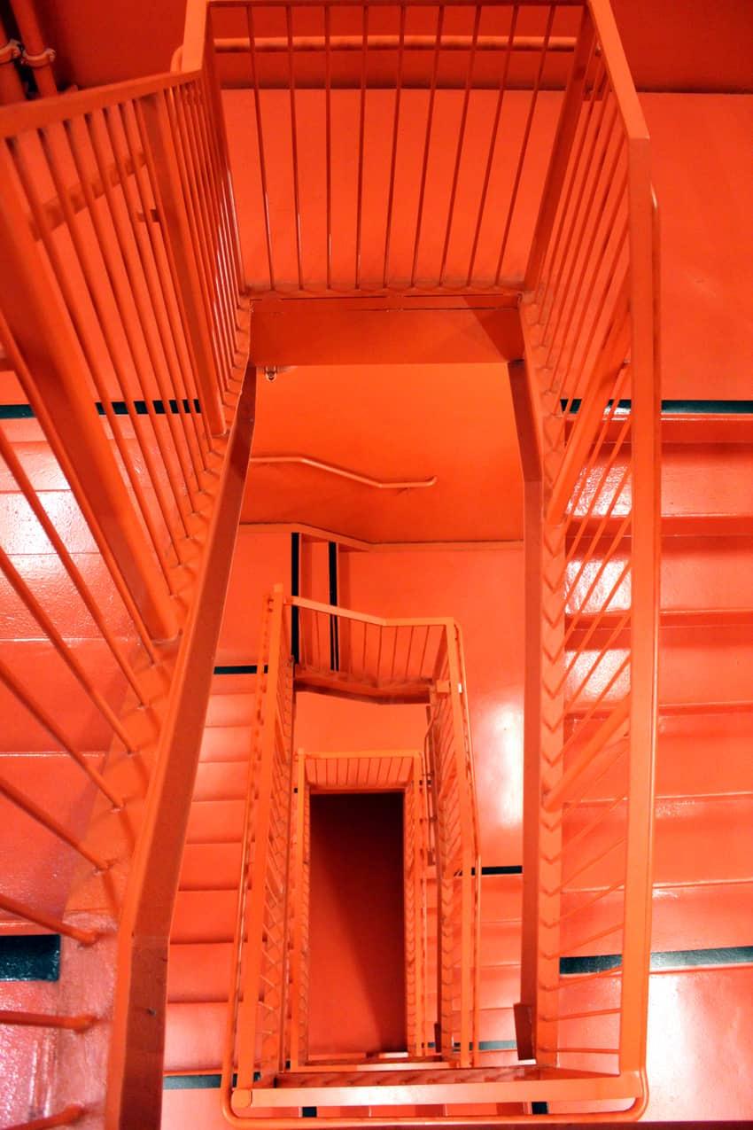 BAMPF stairway art. Berkeley CA.