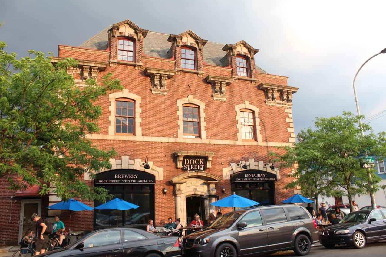 Dock Street Brewery was Philly's first craft beer maker. Philly