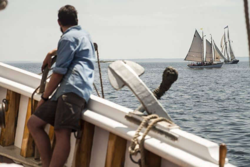 Rockland, Maine: The Great Schooner Race