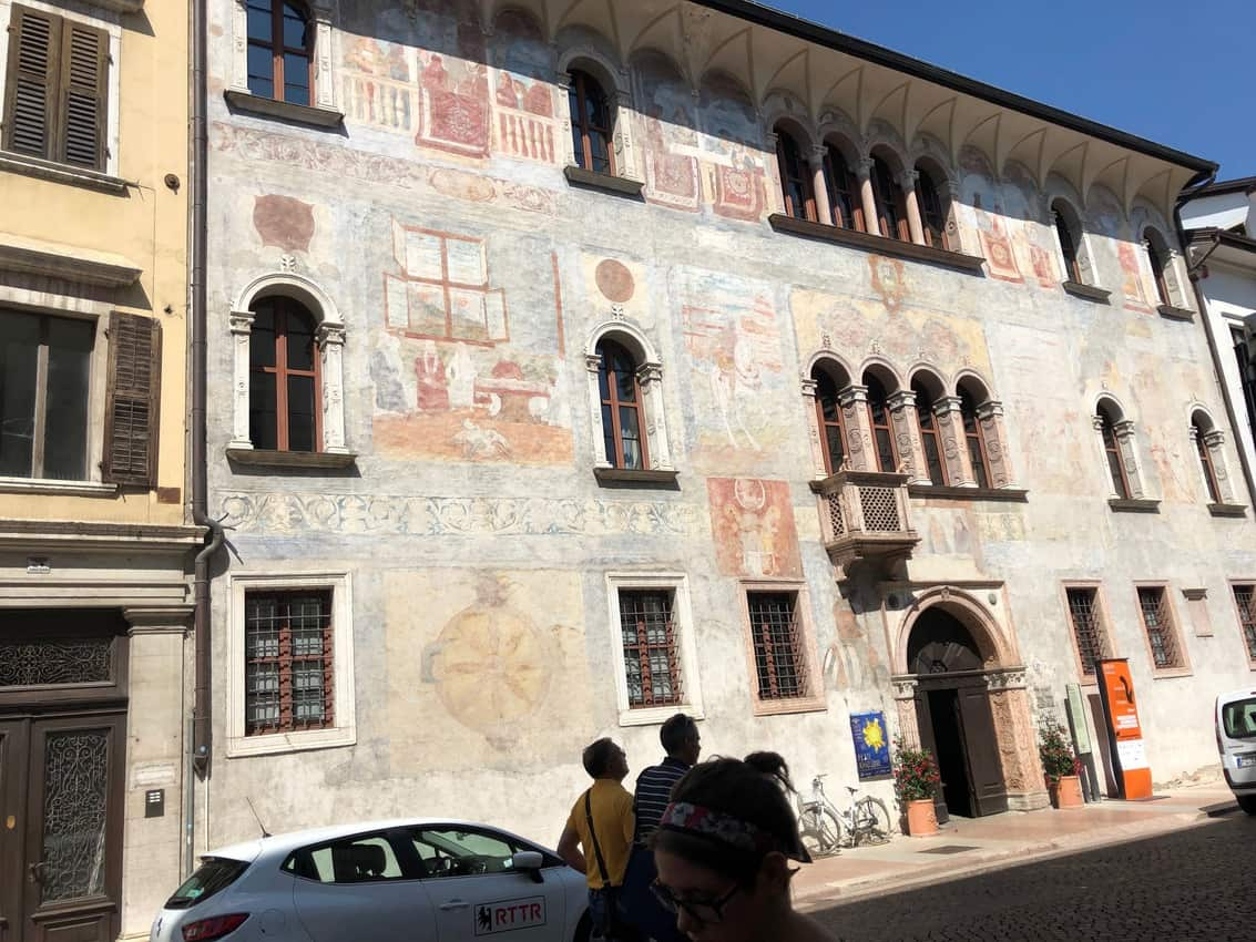 In this building in downtown Trendo, the Council of Trent met and decided the future of the Catholic Church.
