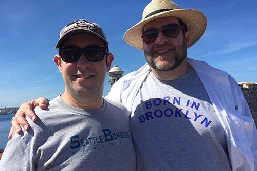 Seth and Jeff Grossman in Cuba.