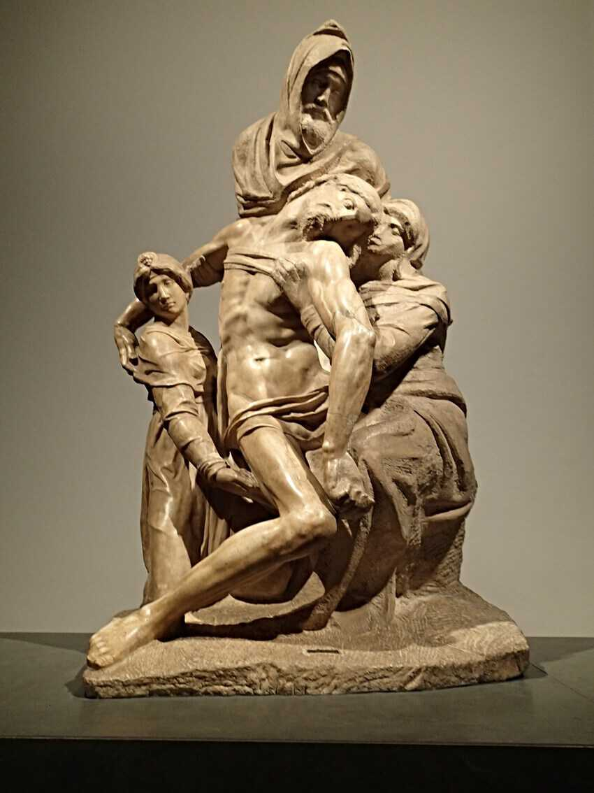 Florence Museums: You may have a few minutes of contemplation with Michelangelo's Pieta in the Opera Duomo Museum..