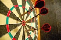 Believe it or not, some travelers have left their destination to the fate of where the arrows land on a dartboard to decide.