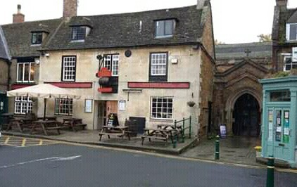 The Vaults, a friendly local pub in Rutland, England.