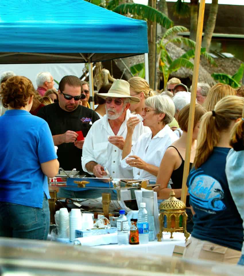 Great Chowder Debate, St Augustine Florida