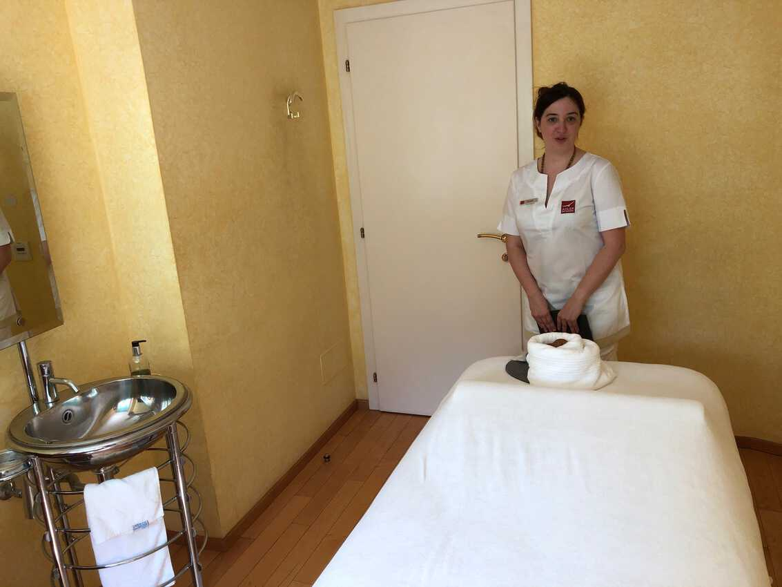 Adler's famous spa is ready for massage, facials and many other treatments.