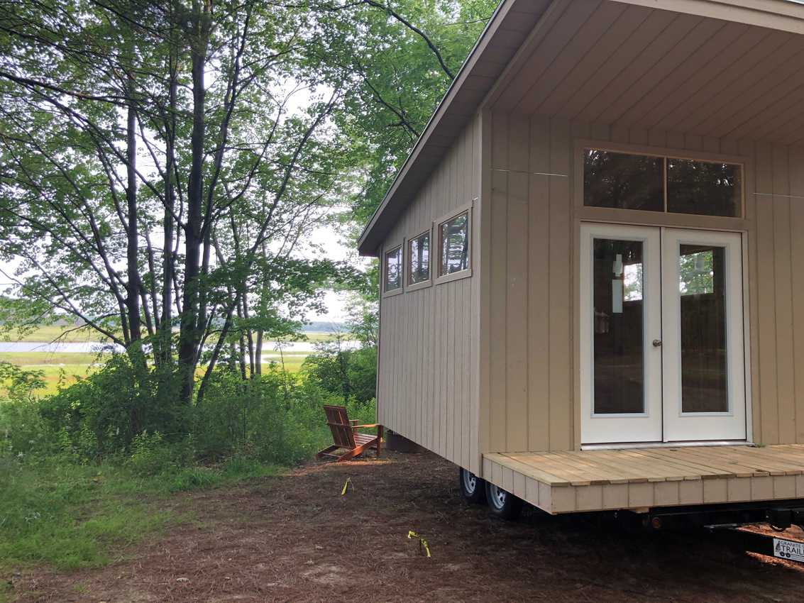 Maine: It's Always a Fun Time Glamping 1