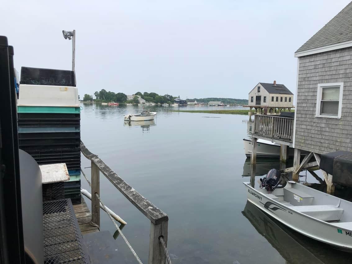 Cape Porpoise Maine lobster shack, Nunan's.