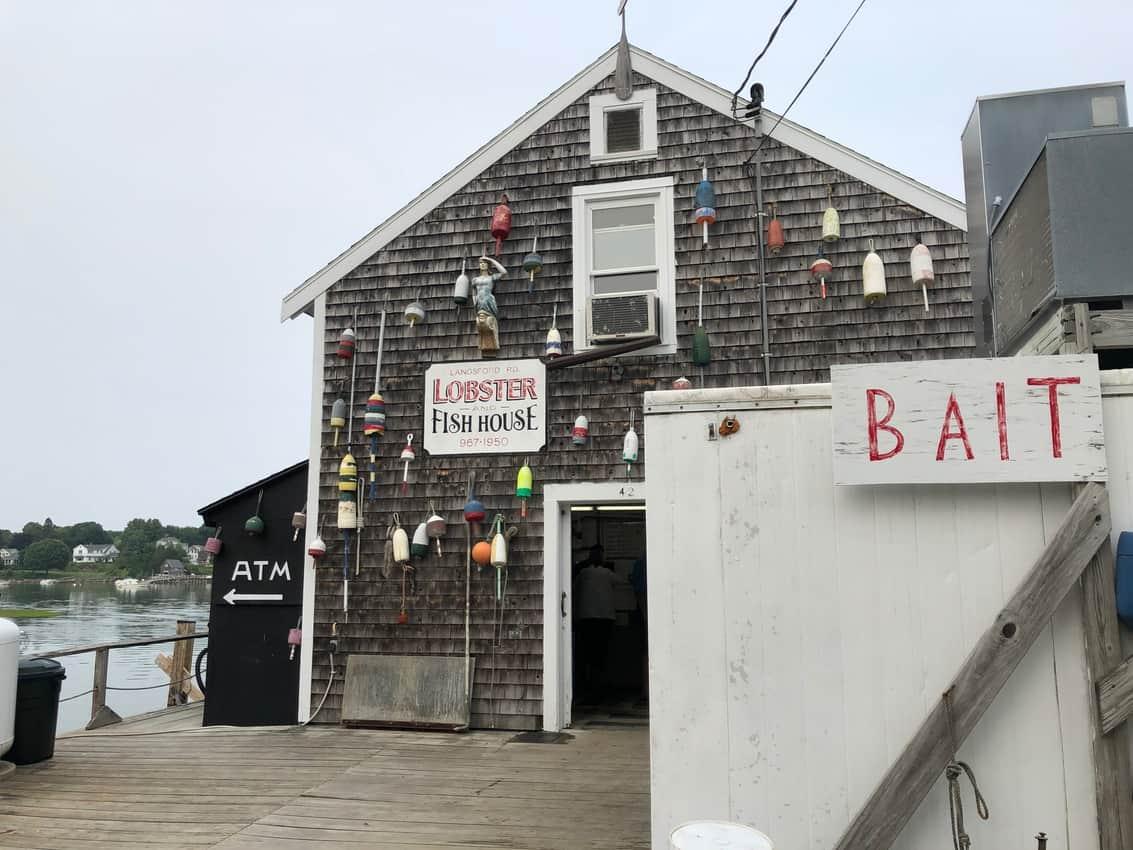 Nunan's Lobster Hut, Cape Porpoise, Maine.