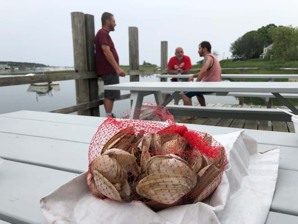 Steamers at Nunan's in Kennebunkport