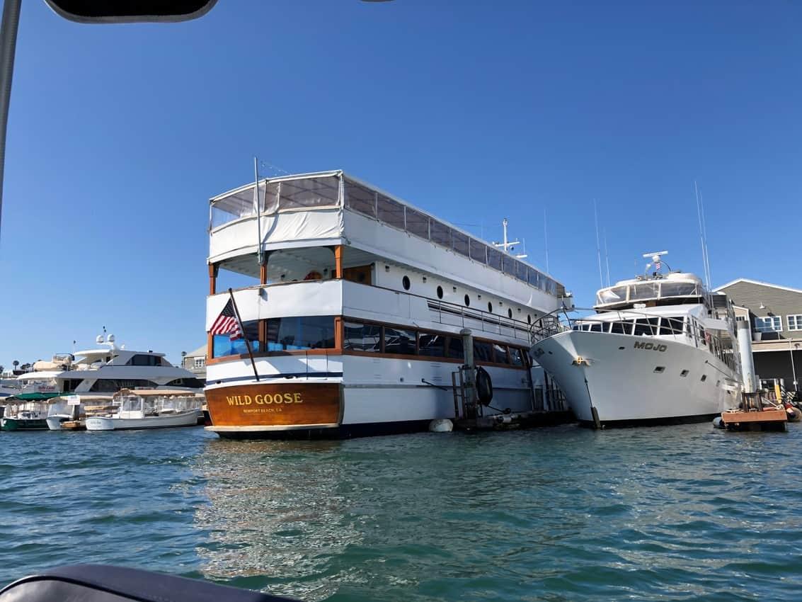 Wild Goose, John Wayne's boat in Newport Harbor California.