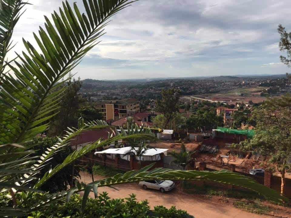View of Kampala city, Uganda.