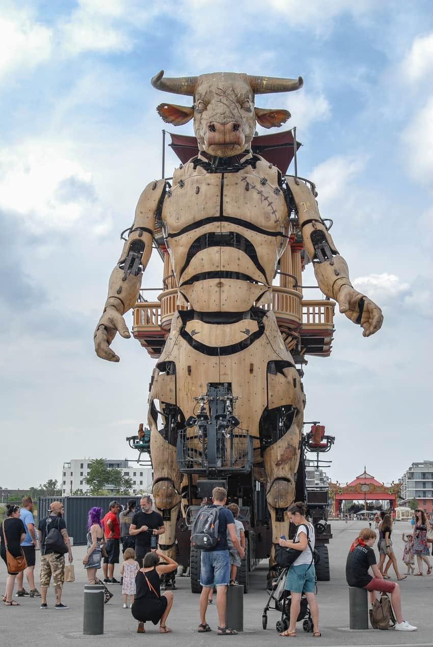 Les Halles de Machines outside of Toulouse, France.