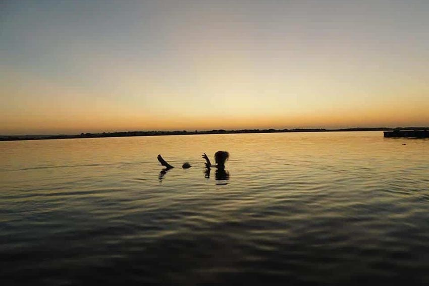 Lake Siwa Swimming