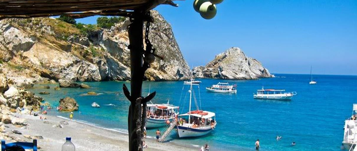 Skiathos day trip cruises
