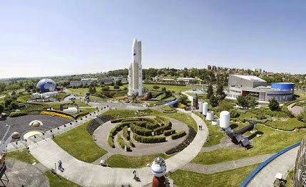 Cite de LeSpace is an amusement and educational park outside of the city of Toulouse.