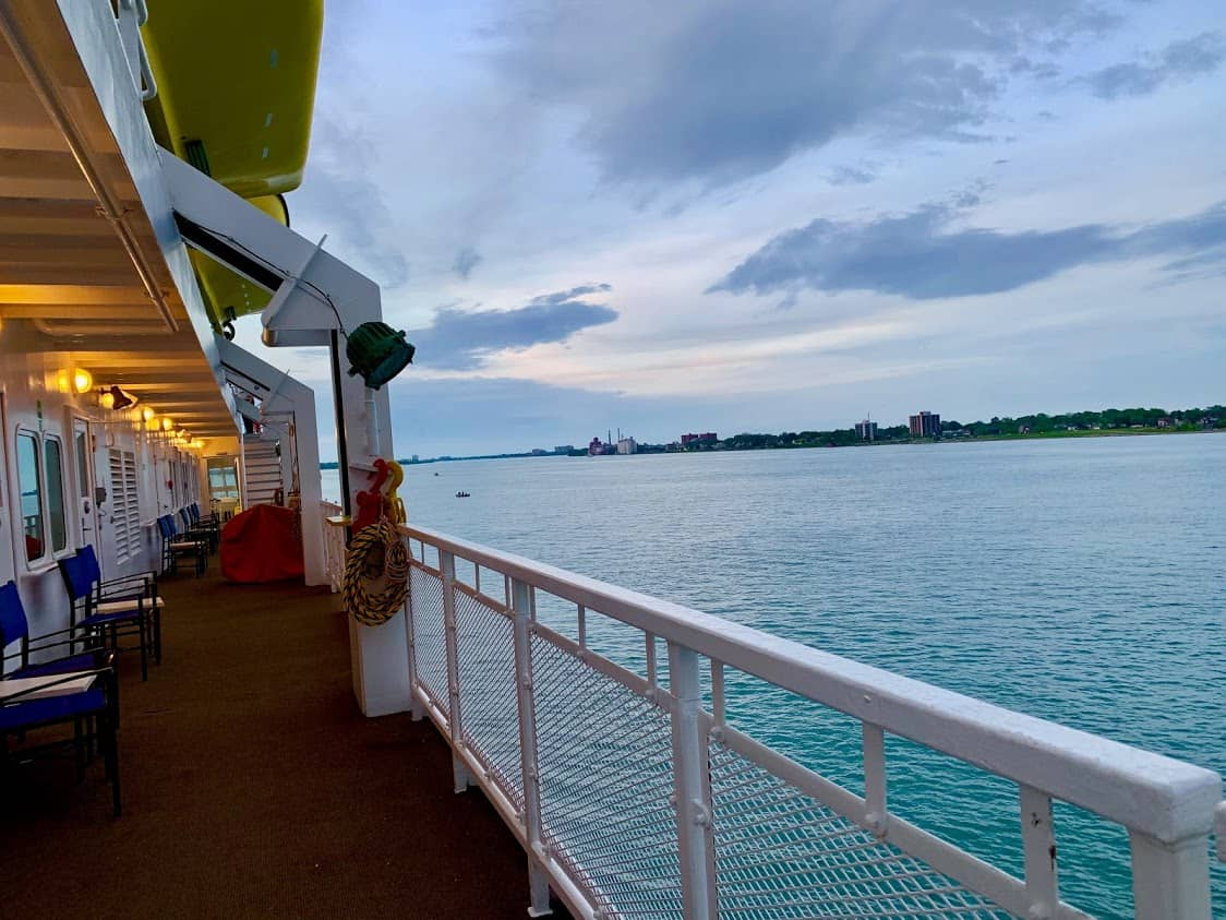 The Great Lakes offer many scenic views on Victory Cruise Lines.