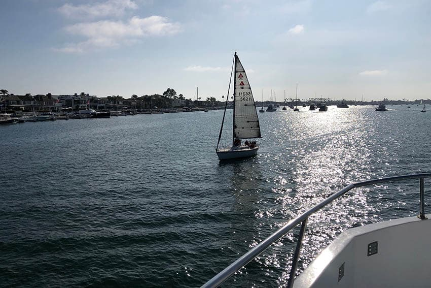 Newport Beach, California boasts one of the largest pleasure boating harbor on the west coast. Max Hartshorne photos.