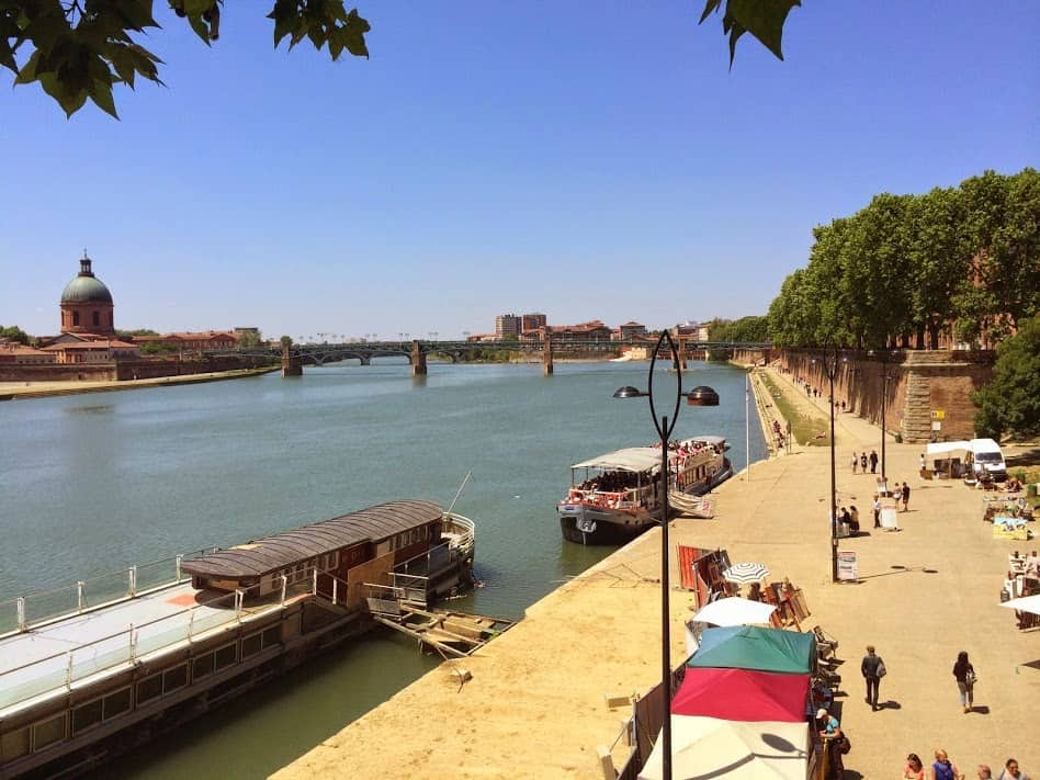 The Toulouse waterfront.