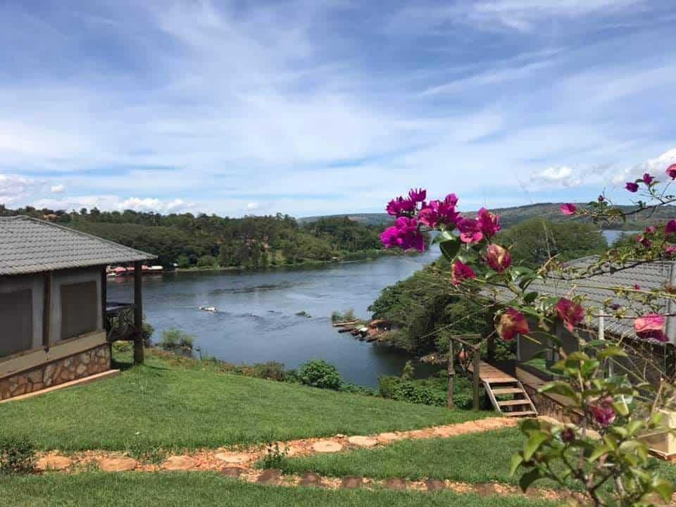 The Zambezi river in Uganda.