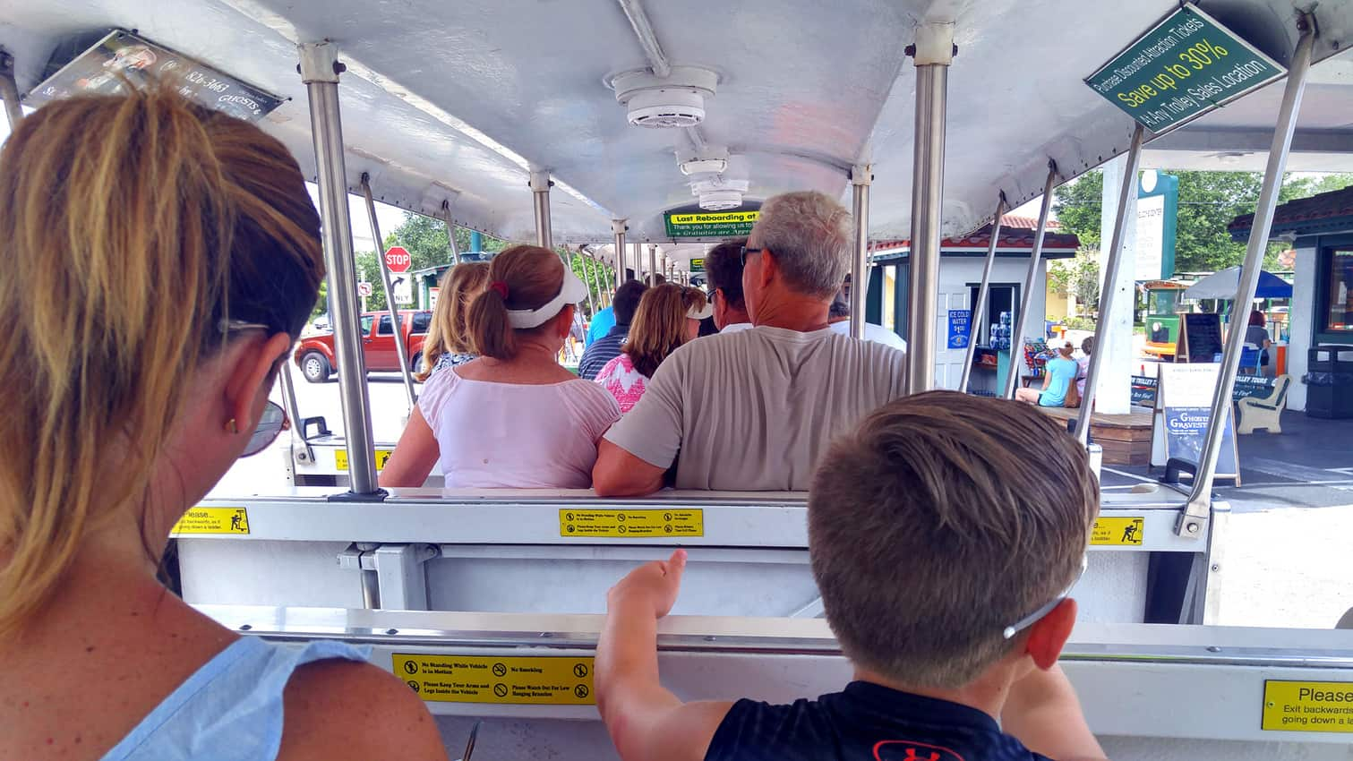 Old Town Trolley, St Augustine Florida
