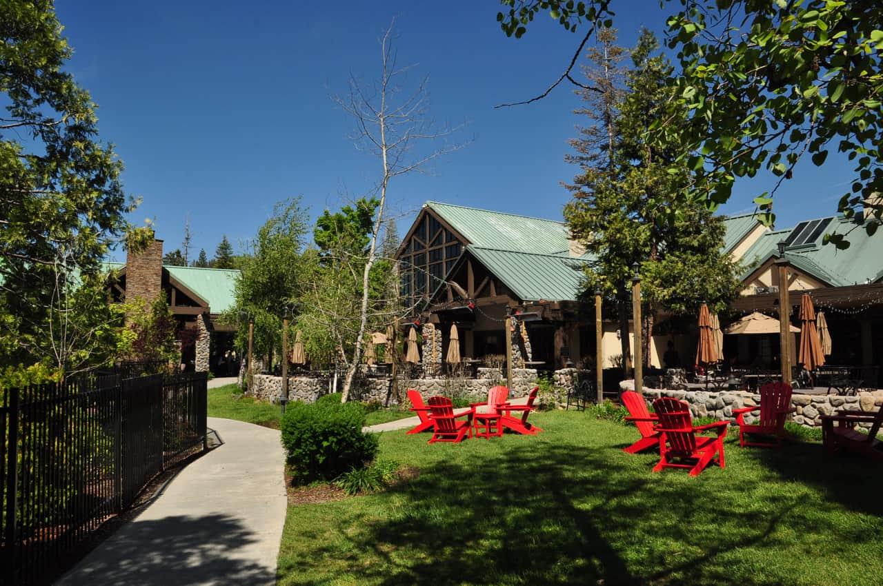 Tenaya Lodge at Yosemite, a four-diamond resort just south of the Yosemite national park.