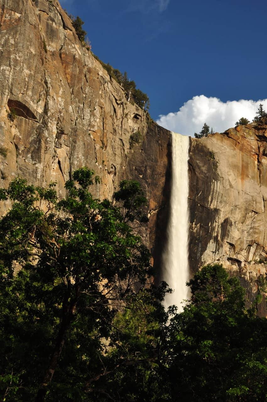 Bridal veil Falls Yosemite National Park, California.