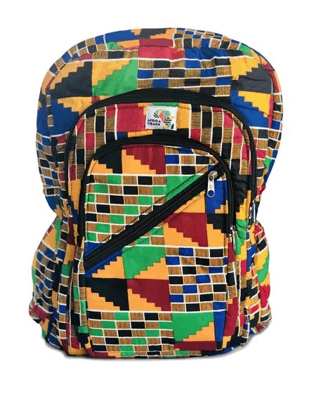 Africa on my Back backpack made in Ghana