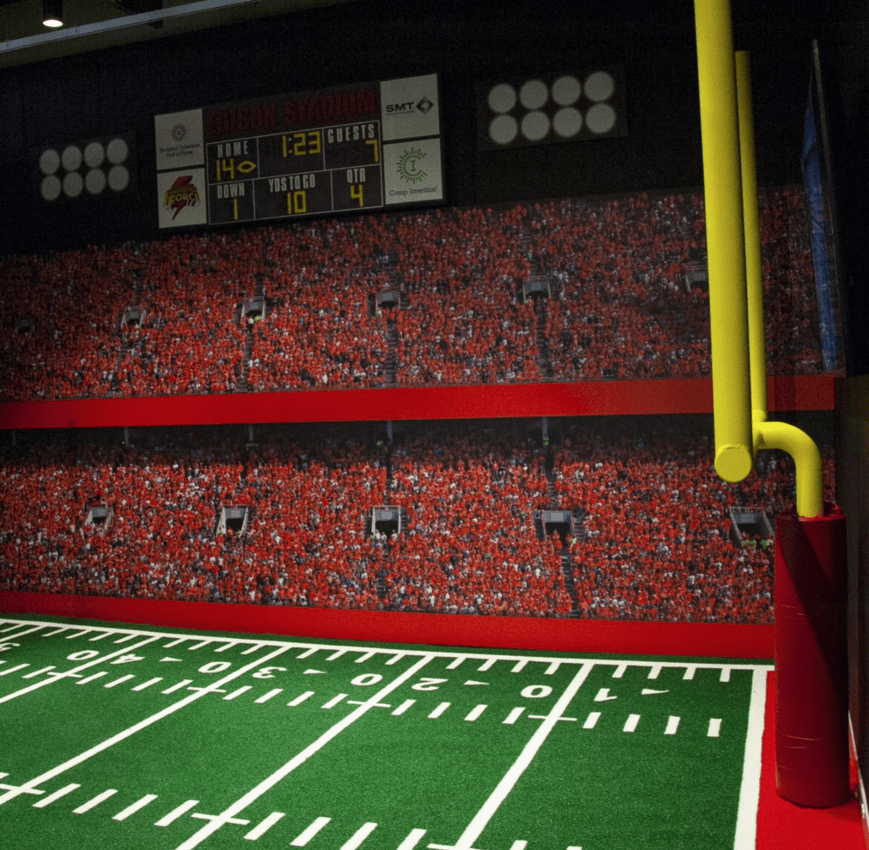The 1st & 10 Line Stadium Exhibit