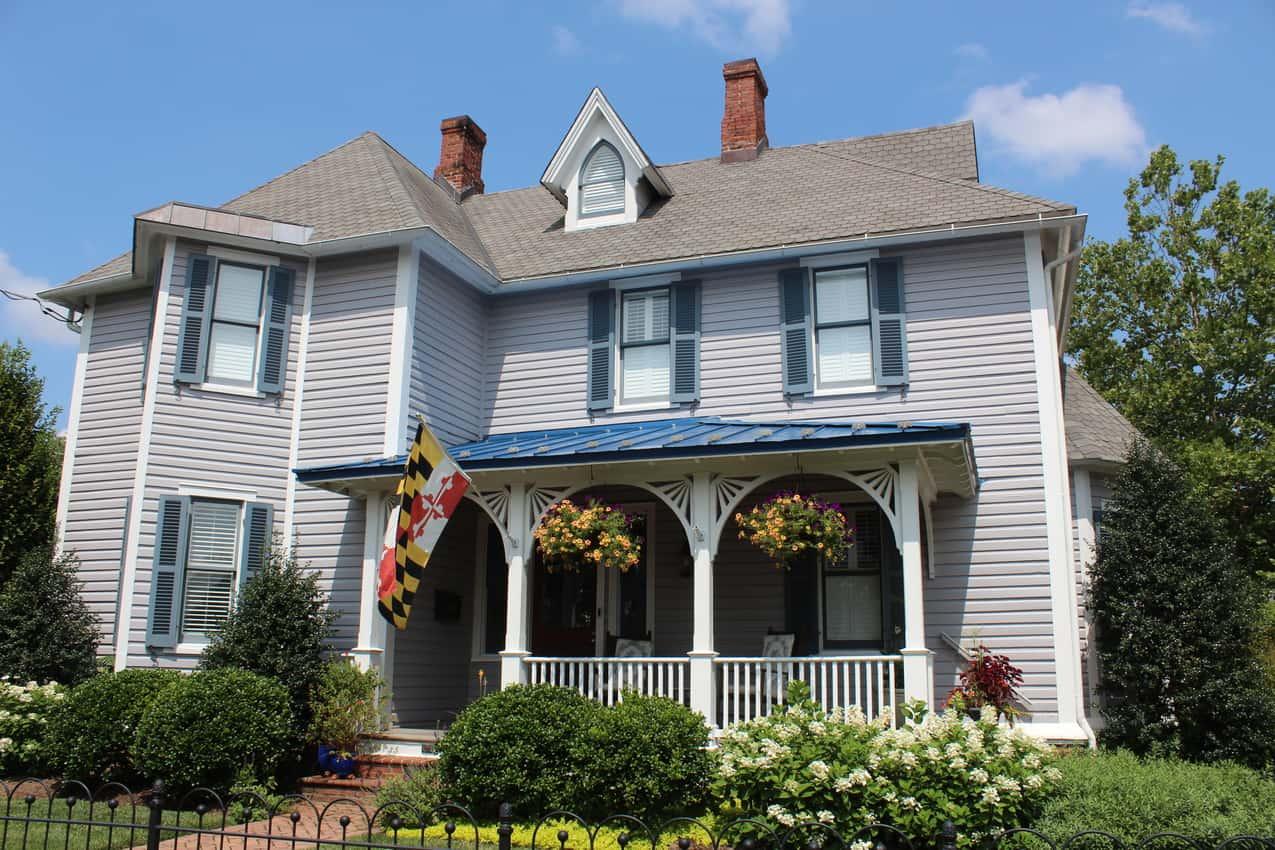 Victorian Home in Chestertown. Delmarva Peninsula