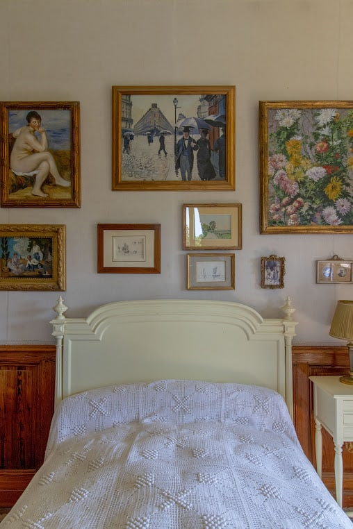 Blanche Monet's bedroom opened in 2014 to the public for the first time.