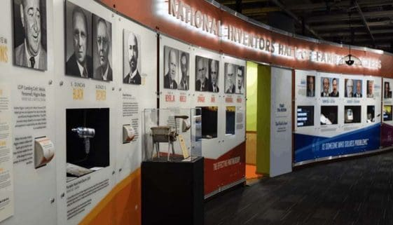 The National Inventor's Hall of Fame and Museum in Alexandria, Virginia.