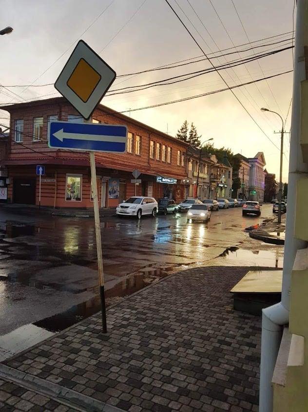 On the street of Vladikavkaz