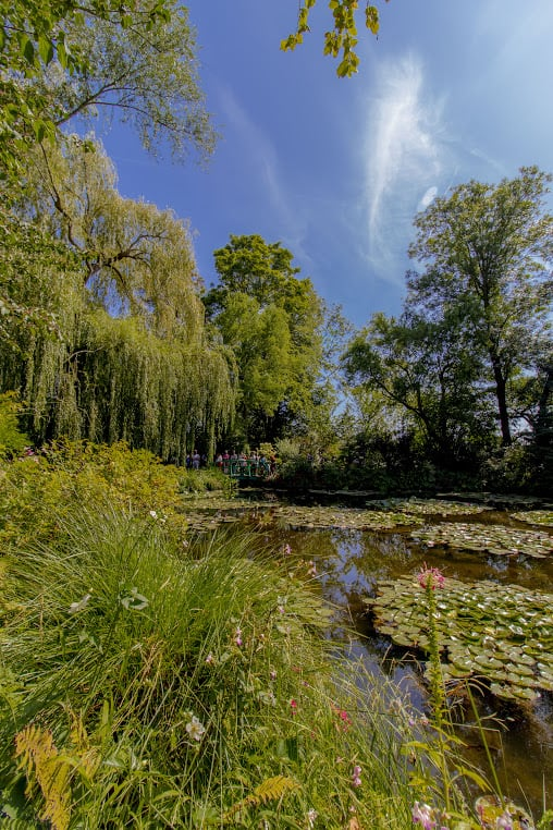 The famous Water Garden of Monet in Giverny.