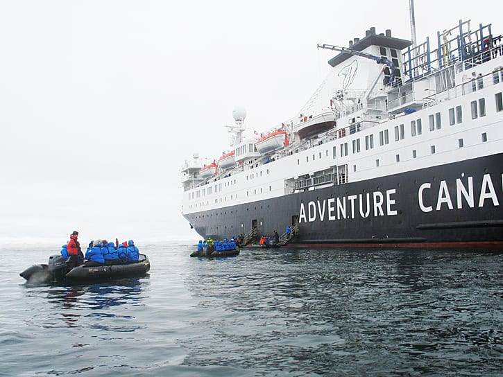 Adventure Canada's High Arctic Endeavor
