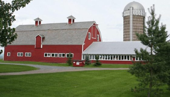 A barn in Burlington Vermont.