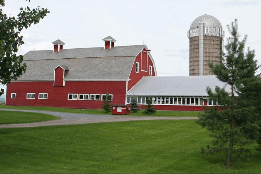 A barn in Burlington Vermont.