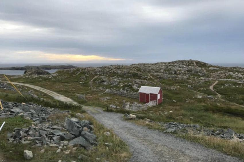 Outside of Bonavista NL at the Dungeon National Park. Mary Gilman photo.