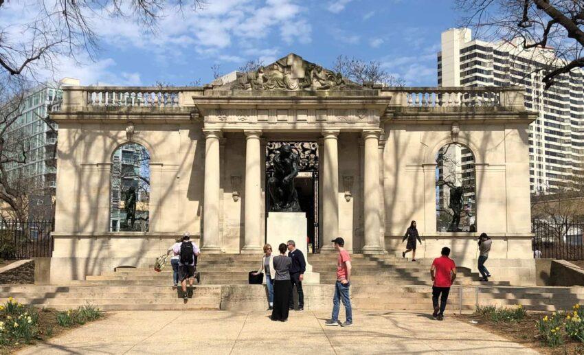 Entrance into Rodin Museum