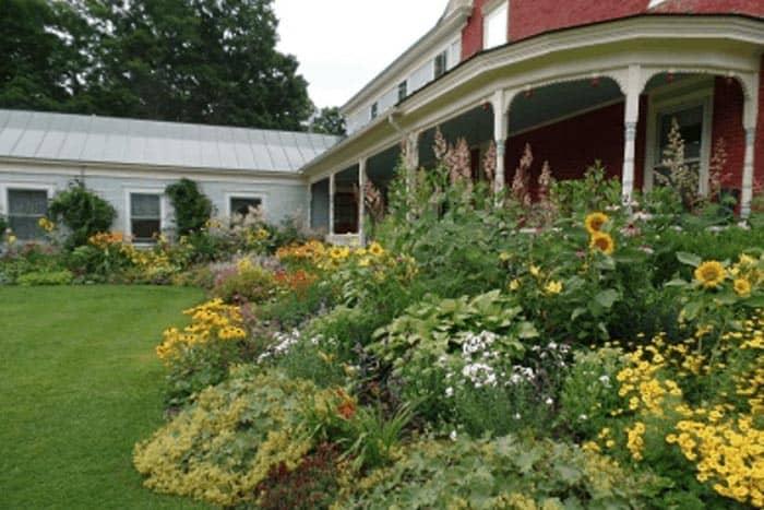 Garden at Hollister Hills Vermont.