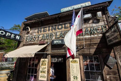 A trip back in time at First & Last Chance Saloon at Jack London Square in Oakland.