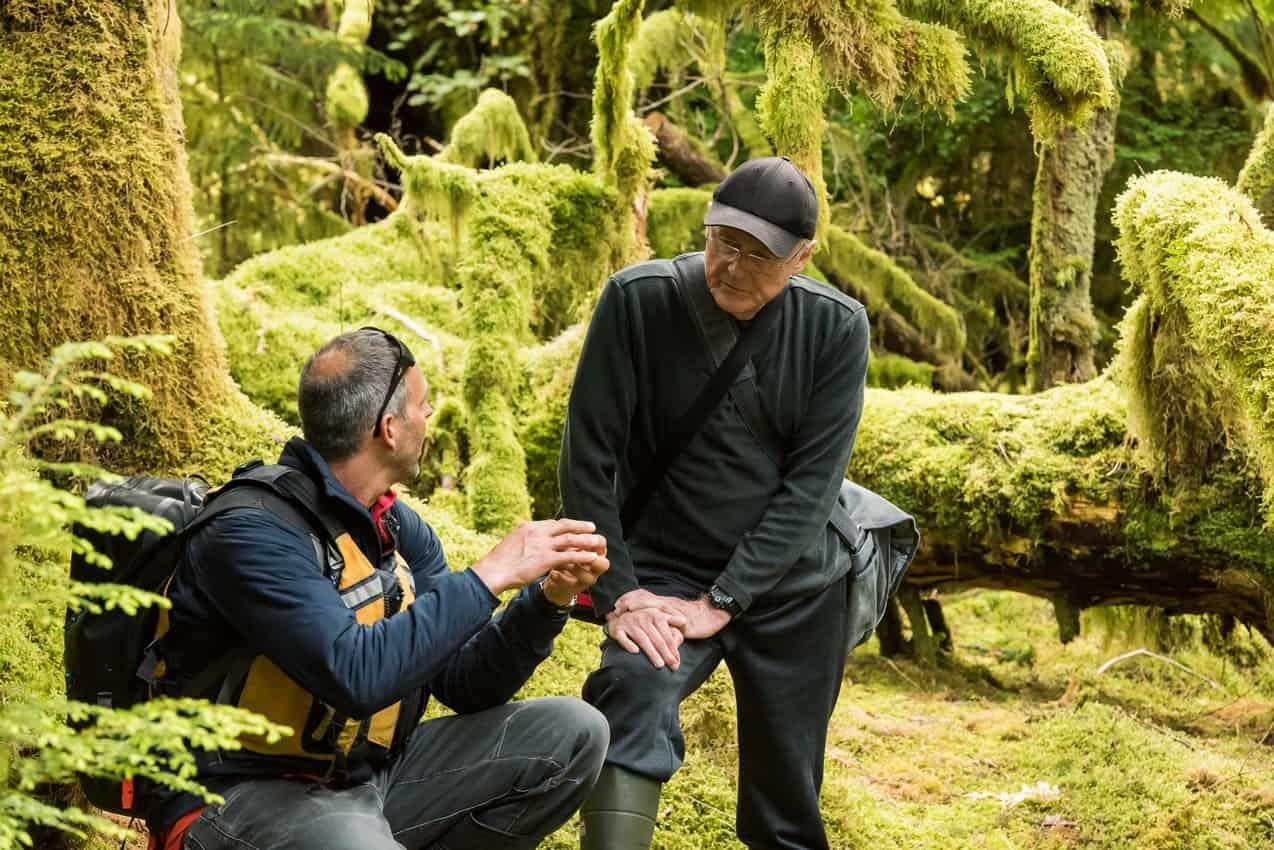 A conversation between Captain Markel and a passenger