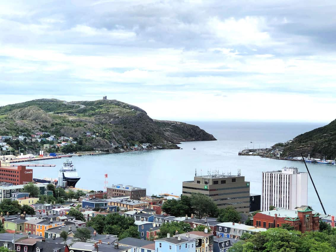 The entrance to the harbor in St Johns, the capital of Newfoundland and Labrador. Max Hartshorne photos.