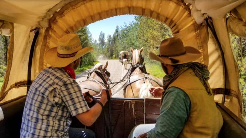 Teton Wagon Train & Horse Adventure