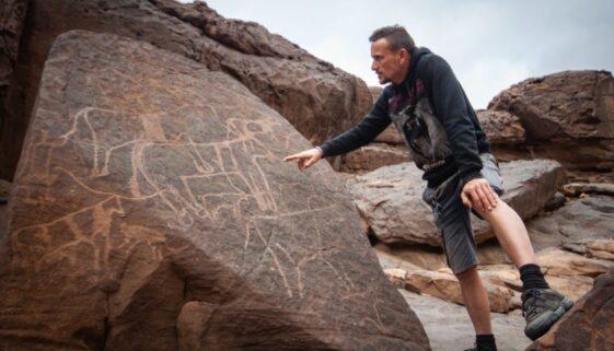 petroglyphs in Sudan