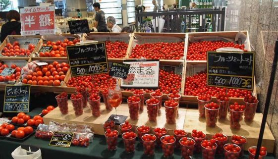 tomatoes in Japan