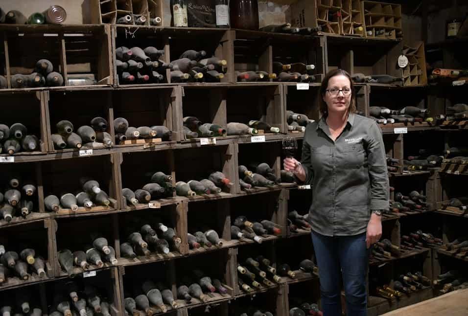 Ms. Sam Flint in Brand's Laira old cellar