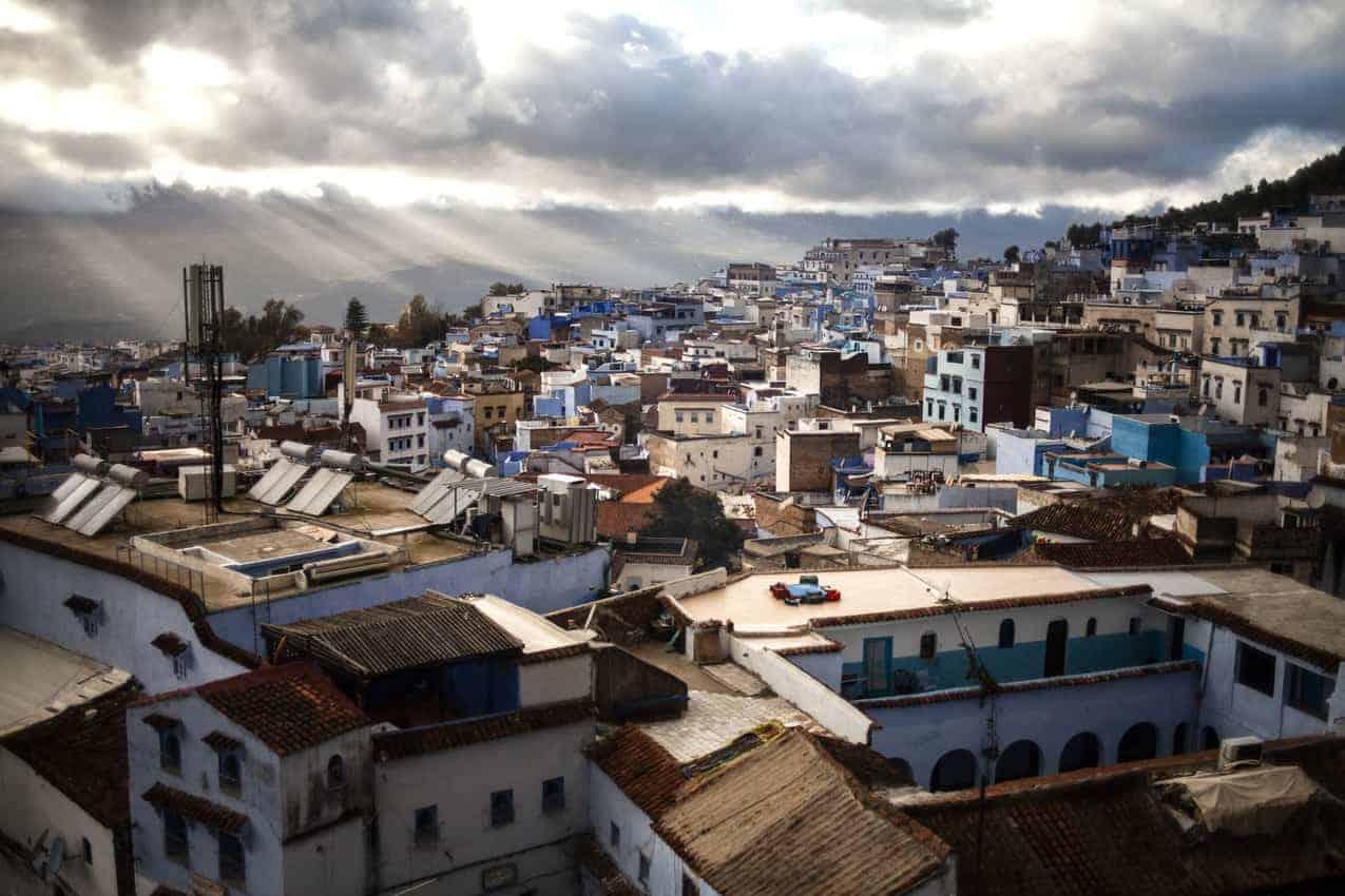 Chefchaouen, Morocco: The Hashish Farmer's Home 1