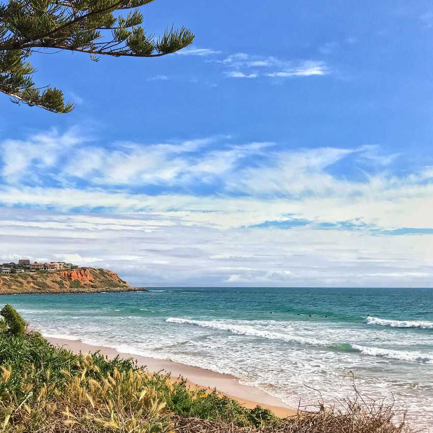 Surf break in South Australia.